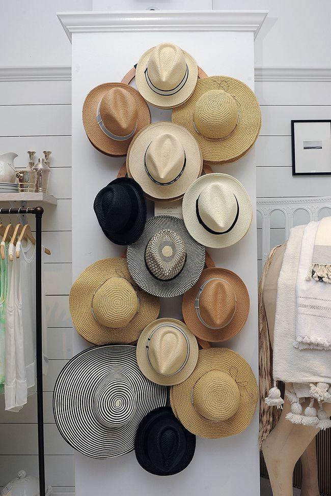 Lovely Market - News - Le chapeau, objet de déco !