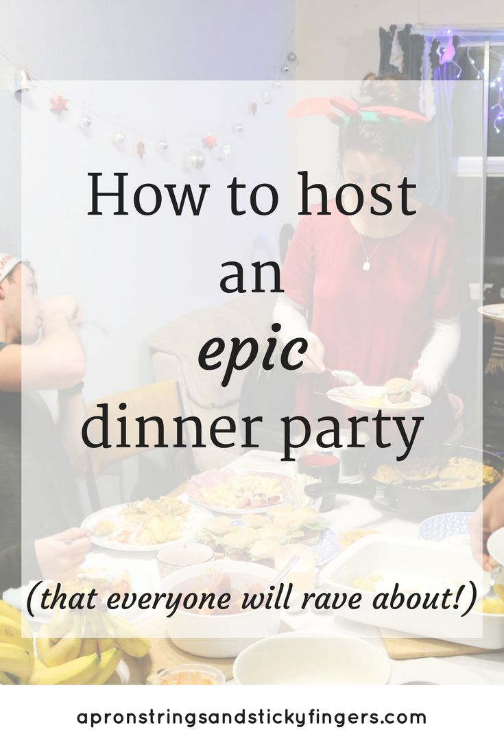 Dinner parties are such a fun way of getting together with all the people you love, but if being the host can be hella stressful. These tips will make hosting an epic dinner party a breeze.