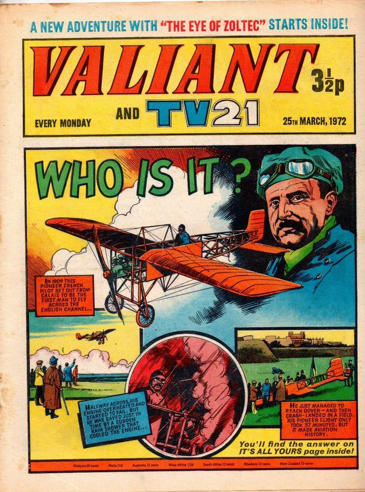 VALIANT AND TV 21 COMIC 25 TH MARCH 1972 STAR WARS