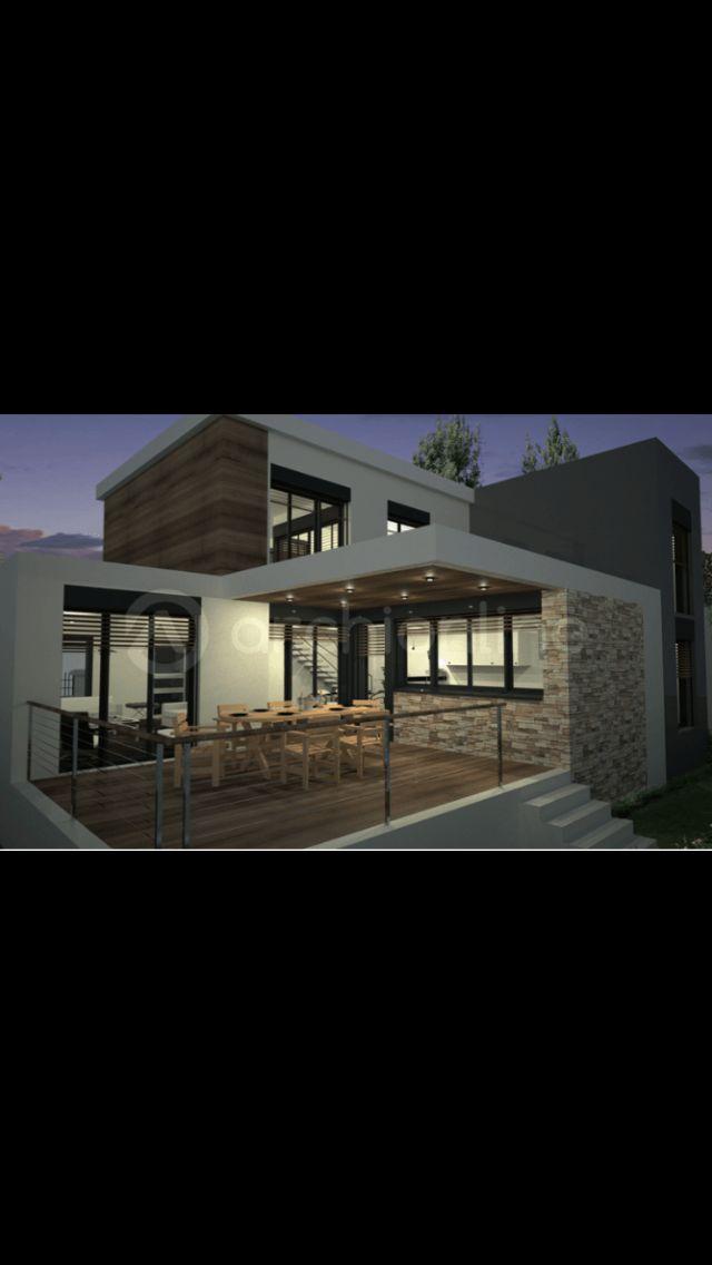 42 best facades maisons images on Pinterest Modern homes - faire un crepi exterieur