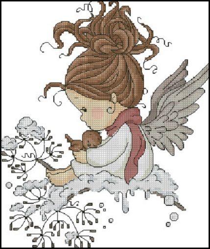 0 petite fée et neige - little fairy and snow  6-6