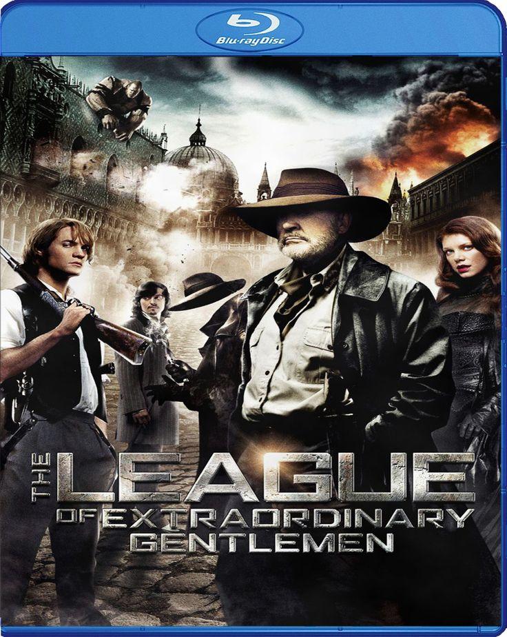 The League of Extraordinary Gentlemen - Muhteşem Kahramanlar [2003] Blu-ray Cover