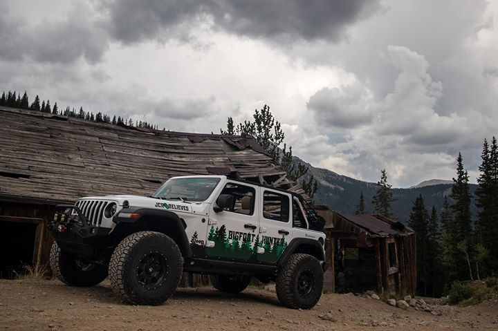 Our 2018 Jl Rubicon Bigfoot Hunter Leads The Expedition With
