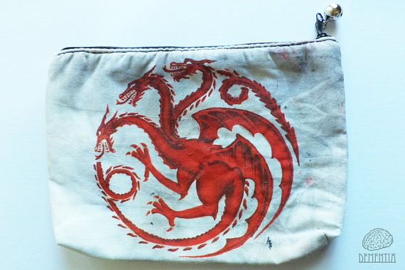 Game of Thrones Targaryen Small Bag, Pouch, Case, Handbag