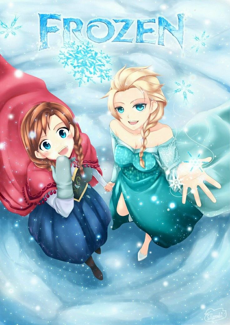 17 best ideas about frozen anime on pinterest elsa - Princesse frozen ...