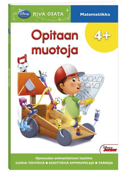 Kiva osata: Opitaan muotoja   Matemaattisten perusteiden opettelua hauskasti. Kirja on tehty kokeneiden suomalaisten alkuopettajien avulla.
