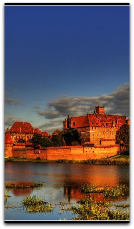 Malbork, biggest castle in Poland