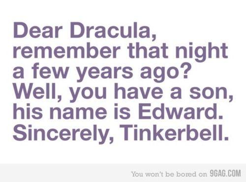 Hahaha sparkling vampires explained!