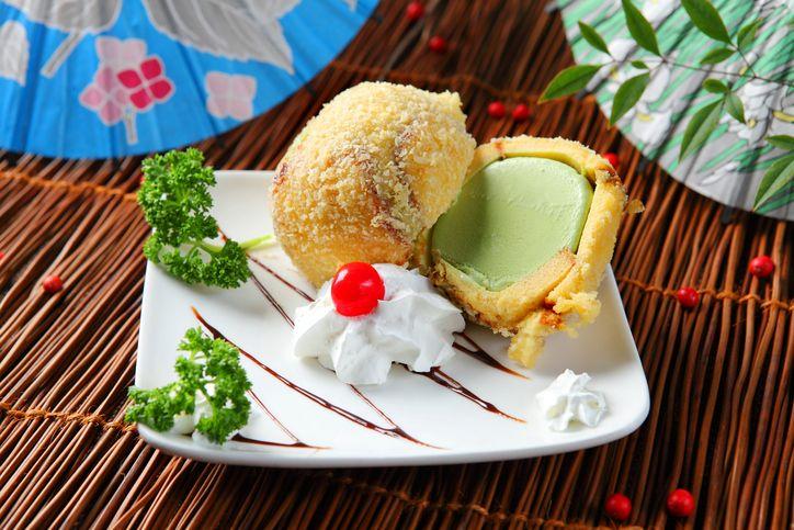 Come fare il gelato fritto