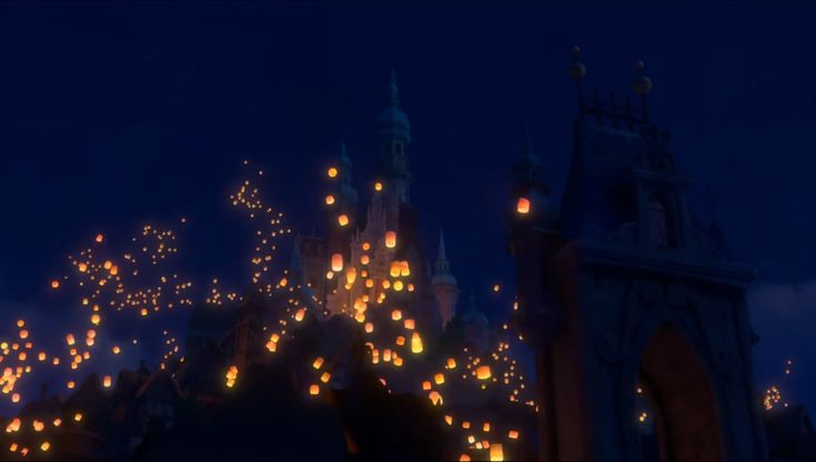 """': Where """" Tangled """" Animators found their Inspiration for the Magical """" Lanterns in the Night """" Sequence"""