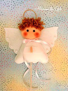 Mimos da Gil: Molde anjinho