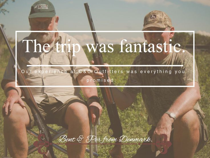 Here at C&C Outfitters Argentina Dove Hunting we pride ourselves of having highly positive feedback from our hunters, we will keep on working as hard to keep it that way. Our idea is that you get the most of this unique experience, and that you take the best pictures and memories with you. Visit us on: http://www.argentinawingshooters.com/reviews/