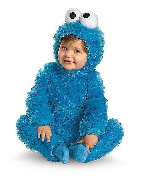 Sesame Street Cookie Monster Baby Costume - Spirithalloween.com