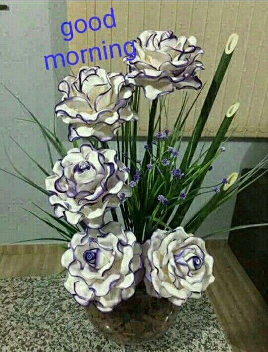 Pin By Hkg Hkgh Gill On Good Morning Hindi Flower Crafts
