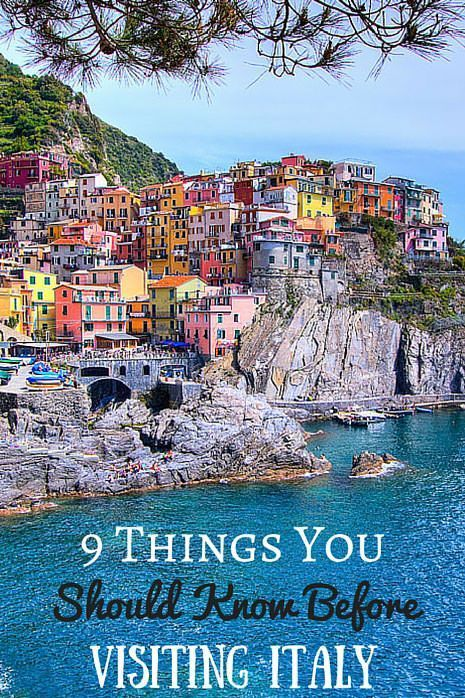 9 Things You Should Know Before Visiting Italy