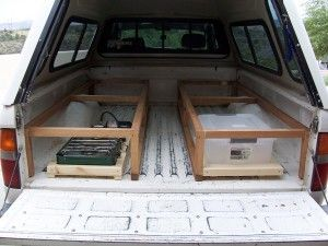 Truck Camper Shell Bed