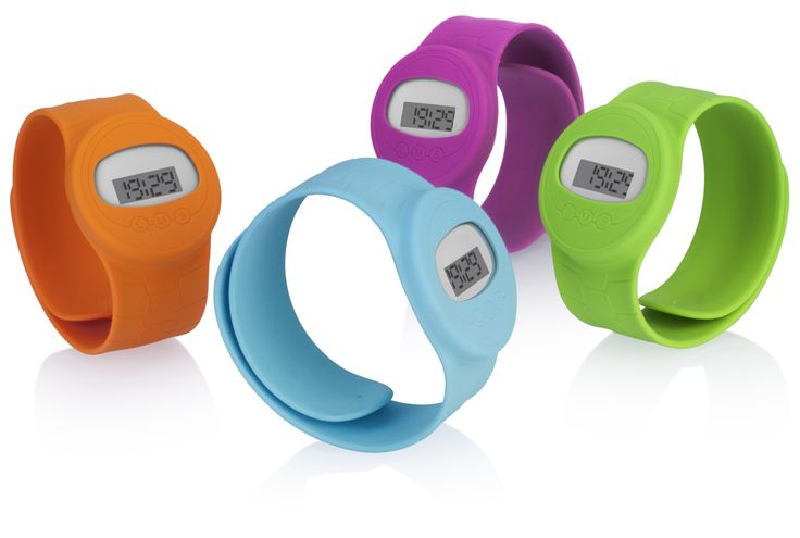 Relojes de silicona slap on watch