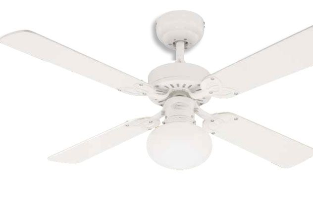 30 best ceiling fans and ventilation images on pinterest ceiling vegas 105cm 42 inch 4 blade ceiling fan in white white blades with single aloadofball Choice Image