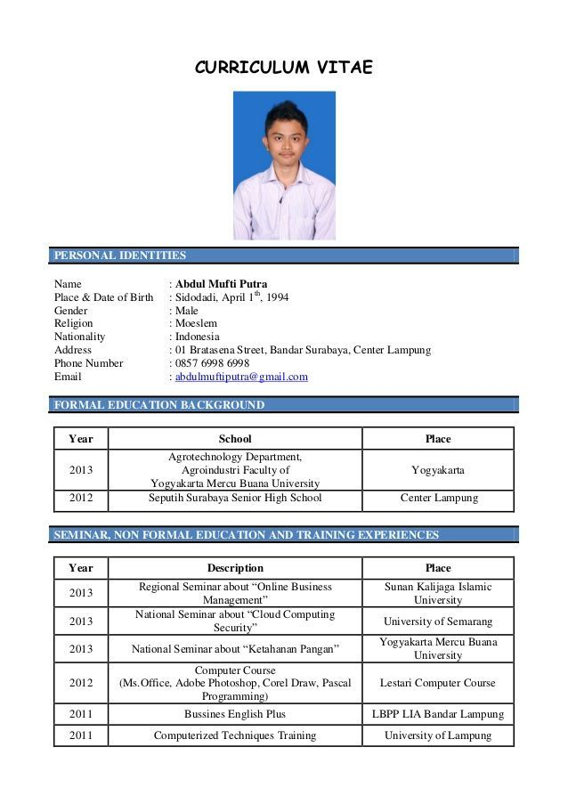 Curriculum Vitae Resume Resume Format Curriculum Cv Template Student Best Resume Tem In 2020 Curriculum Vitae Curriculum Education Resume