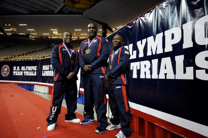 SPC Justin Lester, SFC Dremiel Byers and SGT Spenser Mango earned berths on Team USA for the London Olympic Games at the 2012 U.S. Olympic Trials for Wrestling.