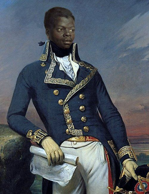 Toussaint Louverture (1743 – 1803) Leader of the Haitian independence movement during the French Revolution, who emancipated the slaves and briefly established Haiti as a black-governed French protectorate.