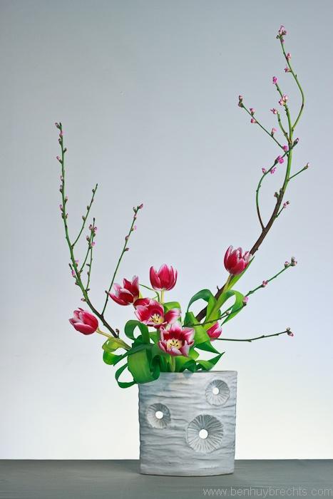 Ikebana: Photo by Ben Huybrechts
