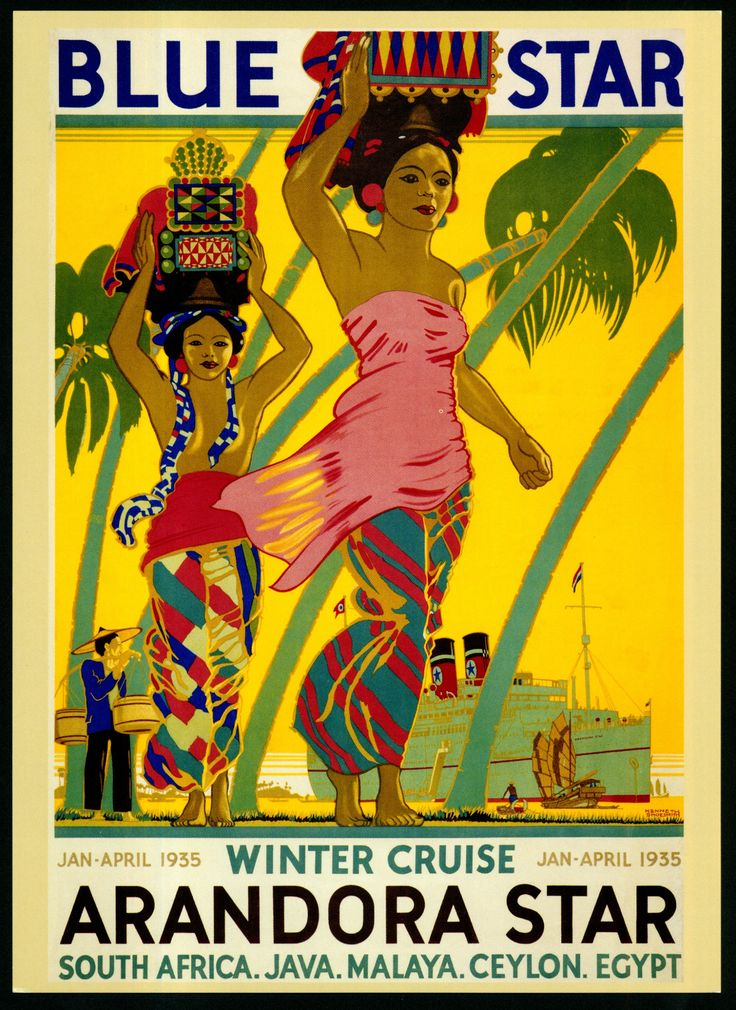 Poster art: The golden age of cruising | Cruise Critic UK