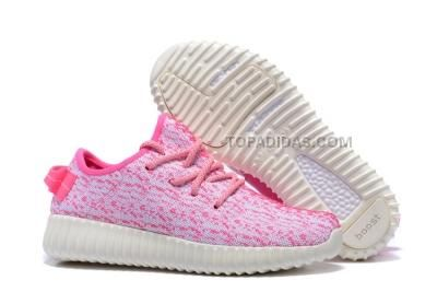 http://www.topadidas.com/adidas-yeezy-boost-350-kids-shoes-pink.html Only$114.00 ADIDAS YEEZY BOOST 350 KIDS #SHOES PINK Free Shipping!