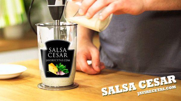 Con esta receta de Salsa Cesar podrás preparar la famosa Ensalada Cesar y también otras recetas como la ensalada de pasta Cesar o los huevos rellenos Cesar. No dejes de probarla ;)