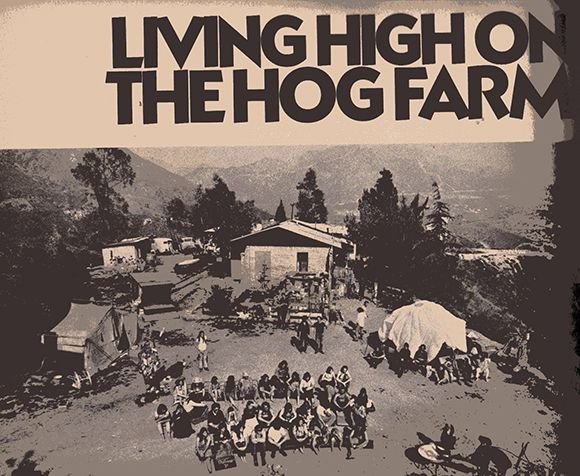 An early shot of the original Hog Farm outside LA via an article from KCET on the original Hog Farm Commune. Seva co-founders Wavy Gravy and his wife Jahanara Romney lived here. The Hog Farms became famous as the security for Woodstock where Wavy Gravy also served as MC. A documentary on Wavy Gravy's life has been made called Saint Misbehavin': The Wavy Gravy Movie. It is available via the Seva Foundation website at www.seva.org