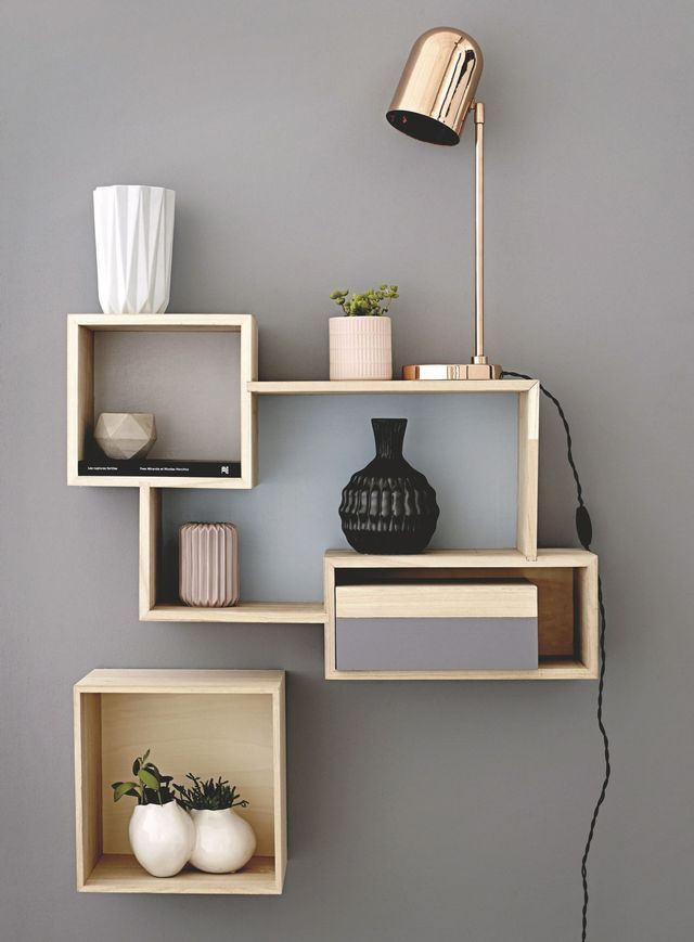 etagere murale design pour le salon home sweet home. Black Bedroom Furniture Sets. Home Design Ideas