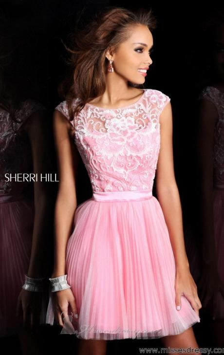 38 best sherri hill images on Pinterest | Clothes, Short prom ...