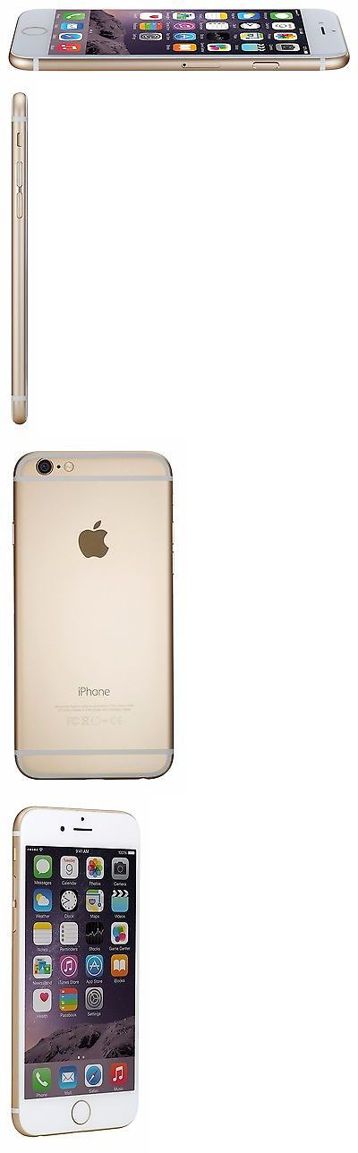 iPhones: Apple Iphone 6 64Gb Atandt Unlocked Gsm Smartphone - Gold -> BUY IT NOW ONLY: $349.99 on eBay!
