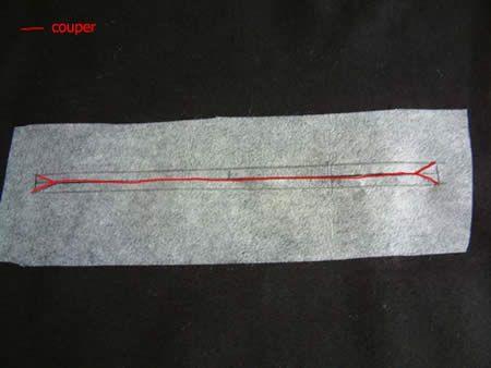 faire une poche zippée au milieu d'un tissu, super tuto!