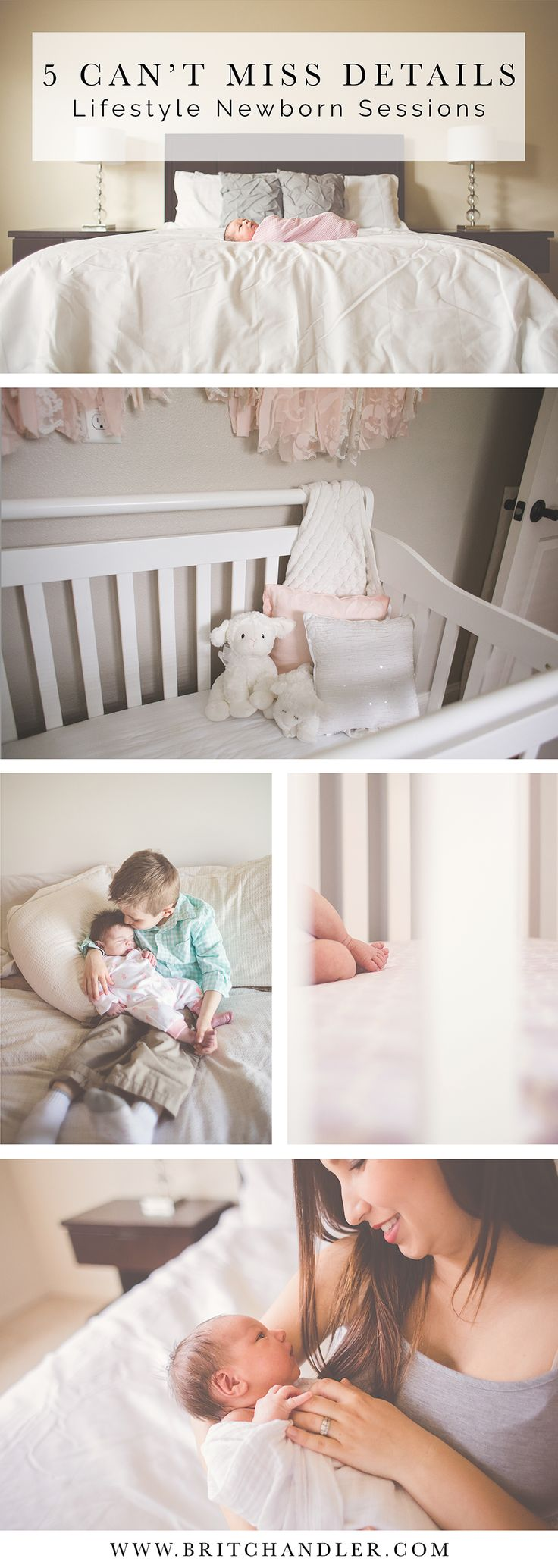 5 Can't Miss Details for Lifestyle Newborn Sessions. Tips, tutorials, posing for lifestyle photography.