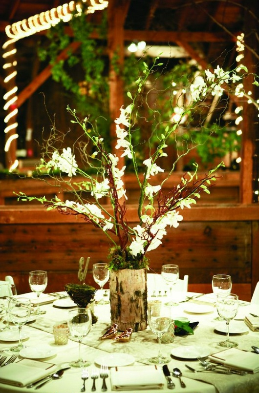Enchanted Forest Table Decorations By Centerpiece Wedding