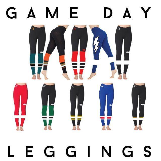 BRINGHOCKEYBACK — Game Day Leggings [Pre-sale]