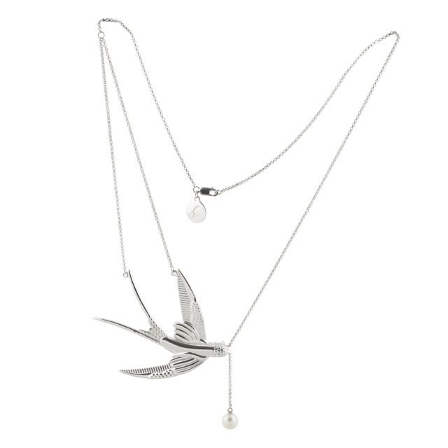 Image of SWALLOW STATEMENT NECKLACE