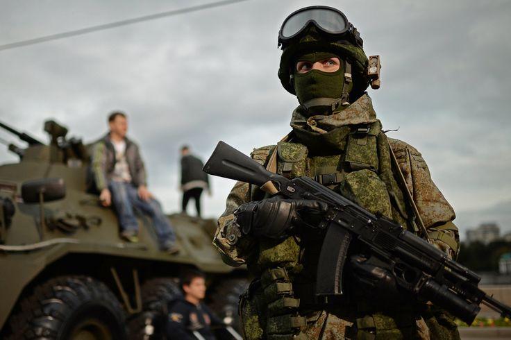 Future Soldier: Russian Spetsnaz Testing Ratnik Combat Gear