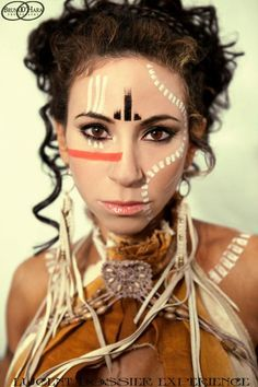 new york tribal face painting designs - Google Search