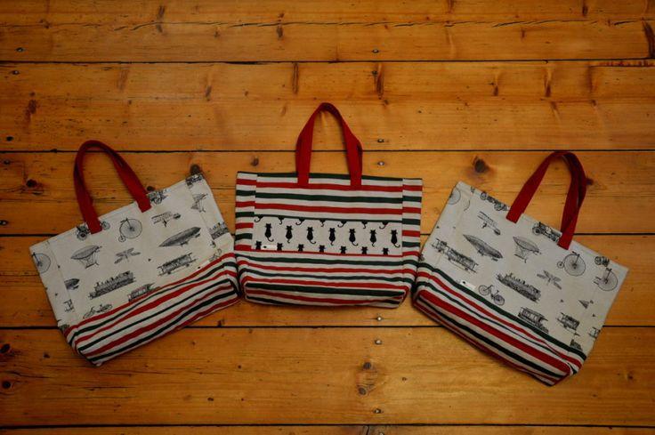 nákupní tašky; shopping bags
