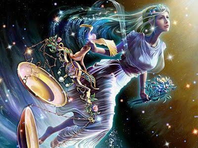 """12 de setembro """"Dia em que na antiga Grégia as mulheres executavam a Tratta, a dança do oceano, somente permitida ao feminino. Esse dia era conhecido pelos gregos como Astraea, dedicado a Astréia, constelação de Virgem. (...)"""" Conta a lenda que, """"quando o homem caiu em orgulho e começou a se considerar superior (...) Astréia, desiludida, subiu ao céu e se tornou a constelação de Virgem"""" (Márcia Frazão) - Da pasta: Relegere-Religio."""