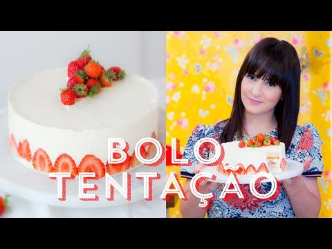 BOLO TENTAÇÃO de COCO com MORANGO | I Could Kill For Dessert 71 #ICKFD - YouTube