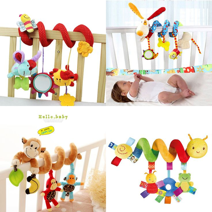 Baby Toys 0-12 Month Infant Stroller/Bed/Cot Crib Hanging Infant Kids Educational Cartoon Animal Pattern Rattles Toy //Price: €11.2 & FREE Shipping //   #fashion #baby #clothes #trendy #2017