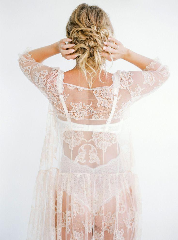 bridal boudoir - photo by Olga Plakitina http://ruffledblog.com/an-intimate-crete-wedding-with-mediterranean-style