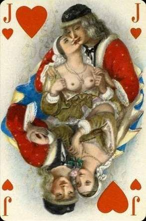 Le florentin erotic playing cards of paulemile becat - 1 part 2