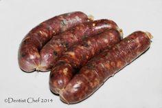Recipe Homemade Bratwurst Sausage with Natural Pig Intestine Casing Sausages…