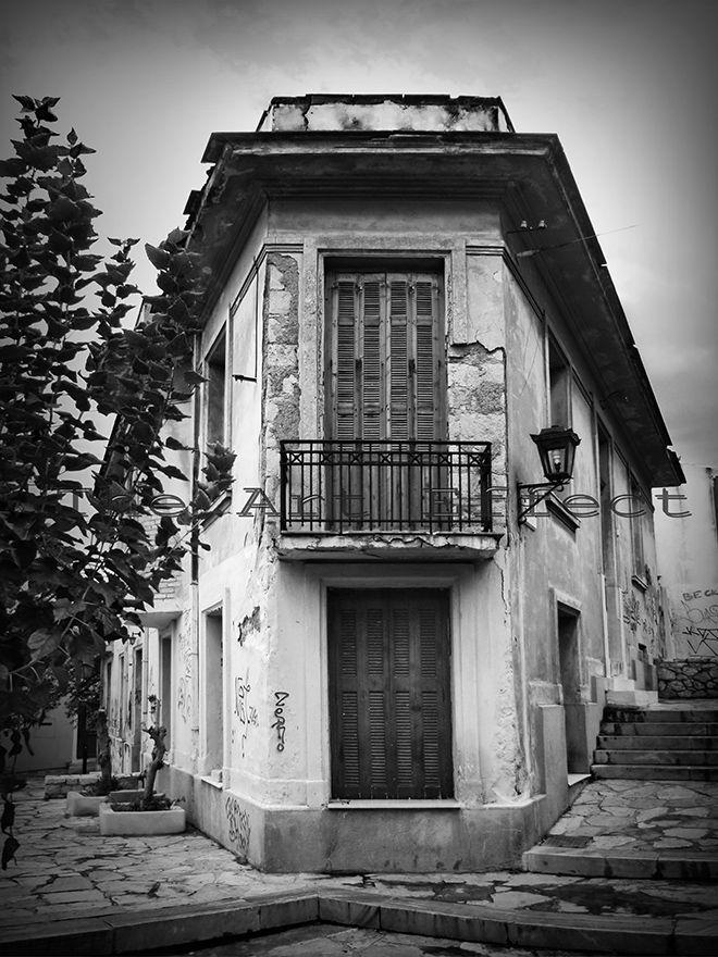 Old Plaka house, Athens 2013 by Ero Agoratsiou