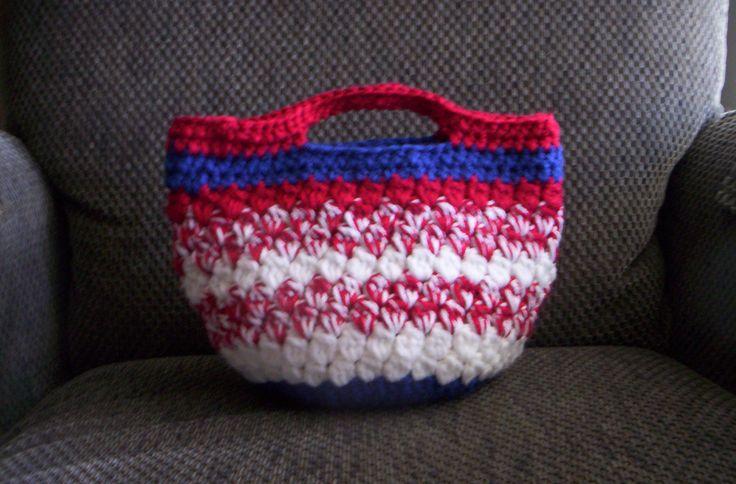 Fourth of July handbag.