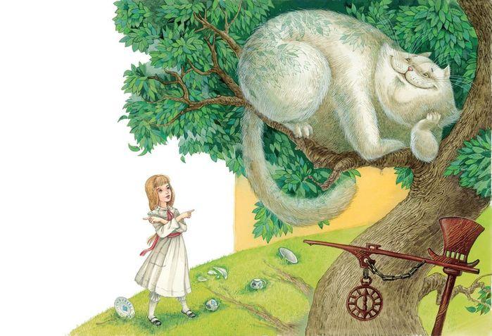 0_f8898_63571cbc_XXL (700x477, 349Kb) Иллюстратор Максим Митрофанов -«Алиса в стране чудес»